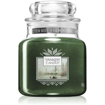 Yankee Candle Evergreen Mist lumânare parfumată Clasic mini