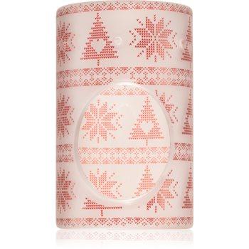 Yankee Candle Red Nordic lampă aromaterapie din ceramică