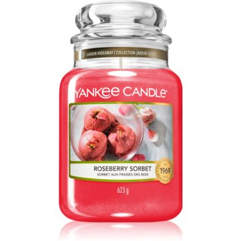 Yankee Candle Roseberry Sorbet lumânare parfumatã Clasic mare imagine produs