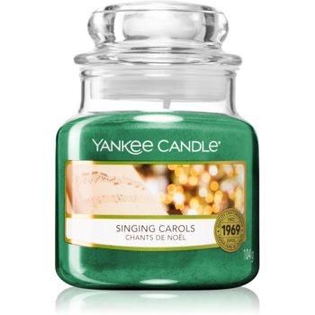 Yankee Candle Singing Carols lumânare parfumată