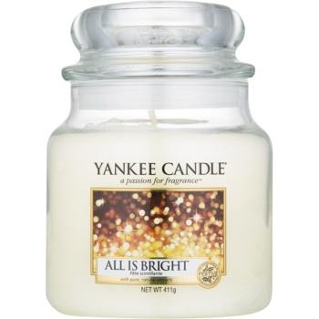 Yankee Candle All is Bright lumanari parfumate 411 g Clasic mediu