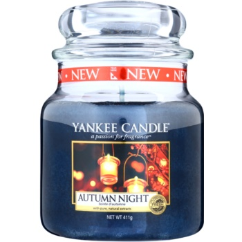 Yankee Candle Autumn Night lumanari parfumate 411 g Clasic mediu