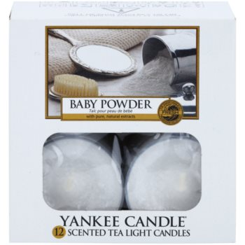 Yankee Candle Baby Powder Teelicht 2