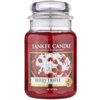 Yankee Candle Berry Trifle Scented Candle  Classic Large