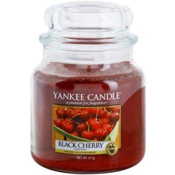 Yankee Candle Black Cherry vonná svíčka Classic střední 411 g