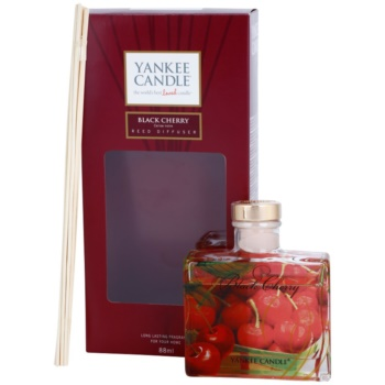 Yankee Candle Black Cherry Aroma Diffuser mit Nachfüllung  Signature