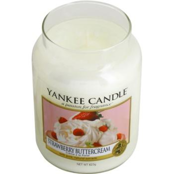 Yankee Candle Strawberry Buttercream ароматизована свічка   Classic велика 1