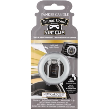 Yankee Candle New Car Scent autoduft Clip 4 ml