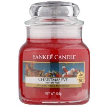 Yankee Candle Christmas Eve vonná svíčka Classic malá 104 g