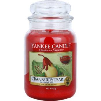 Yankee Candle Cranberry Pear lumanari parfumate   Clasic mare