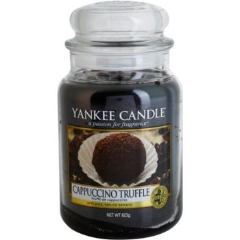 Yankee Candle Cappuccino Truffle dišeča sveča   Classic velika
