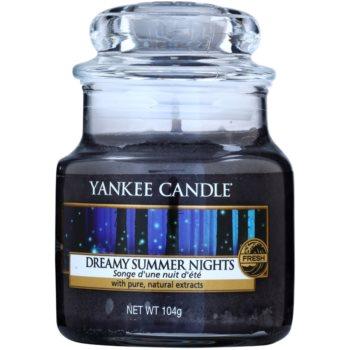 Yankee Candle Dreamy Summer Nights vonná svíčka Classic malá 105 g