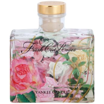 Yankee Candle Fresh Cut Roses Aroma Diffuser mit Nachfüllung  Signature 1