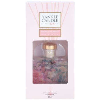 Yankee Candle Fresh Cut Roses Aroma Diffuser mit Nachfüllung  Signature 2