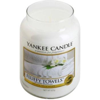 Yankee Candle Fluffy Towels świeczka zapachowa   Classic duża 1