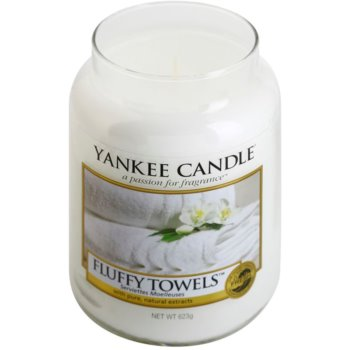Yankee Candle Fluffy Towels lumanari parfumate   Clasic mare 1