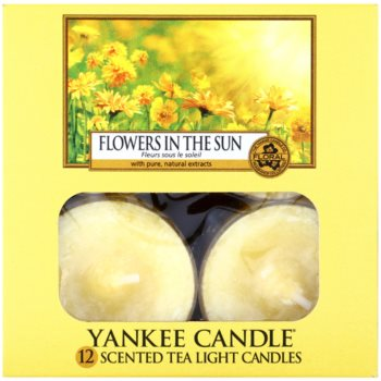 Yankee Candle Flowers in the Sun Чаена свещ 2
