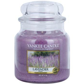 Yankee Candle Lavender vonná svíčka Classic střední 411 g