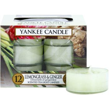 Yankee Candle Lemongrass & Ginger Tealight Candle