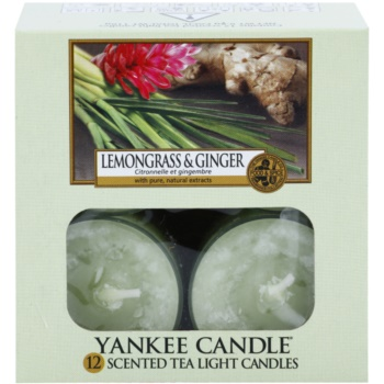 Yankee Candle Lemongrass & Ginger Tealight Candle 2