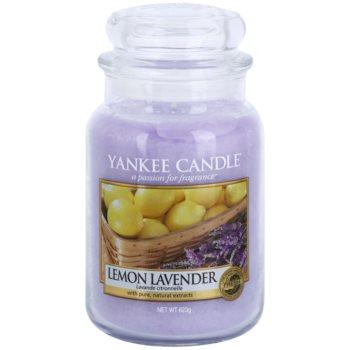 Yankee Candle Lemon Lavender vonná svíčka Classic velká 623 g