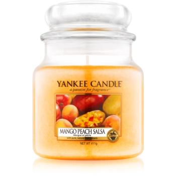 Yankee Candle Mango Peach Salsa lumanari parfumate 411 g Clasic mediu