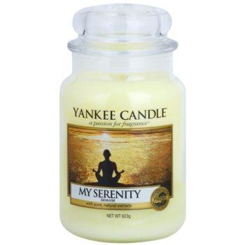Yankee Candle My Serenity ароматизована свічка   Classic велика