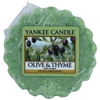 Yankee Candle Olive & Thyme Wachs für Aromalampen