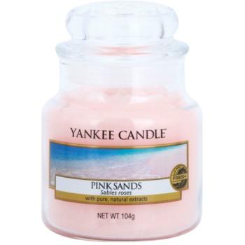 Yankee Candle Pink Sands vonná svíčka Classic malá 104 g