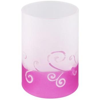 Fotografie Yankee Candle Purple Scroll Skleněný svícen na čajovou svíčku