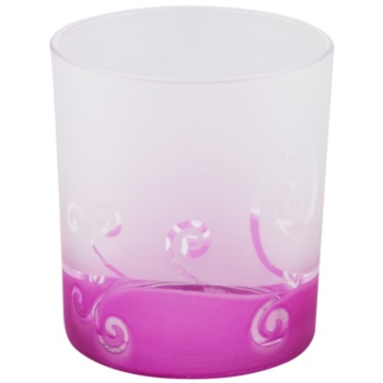 Yankee Candle Purple Scroll Glaskerzenhalter für Votivkerzen
