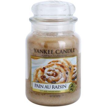 Yankee Candle Pain au Raisin świeczka zapachowa   Classic duża