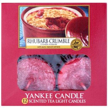Yankee Candle Rhubarb Crumble čajna sveča 2