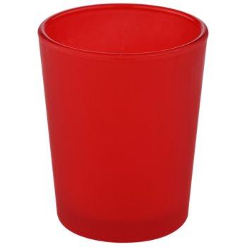 Yankee Candle Roller Üveg gyertyatartó fogadalmi gyertya alá    (Red)