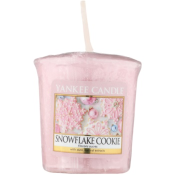 Yankee Candle Snowflake Cookie Votive Candle