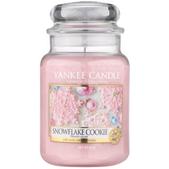 Yankee Candle Snowflake Cookie vonná svíčka Classic velká 623 g