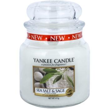 Yankee Candle Sea Salt & Sage lumanari parfumate 411 g Clasic mediu