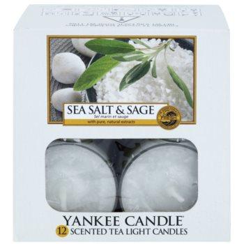 Yankee Candle Sea Salt & Sage lumânare 2