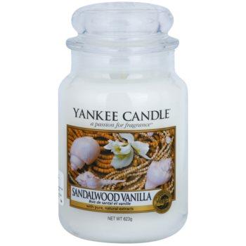 Yankee Candle Sandalwood Vanilla ароматизована свічка   Classic велика