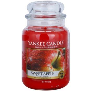 Yankee Candle Sweet Apple lumanari parfumate   Clasic mare