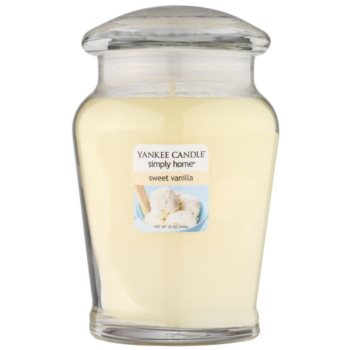 Yankee Candle Sweet Vanilla Scented Candle  Medium