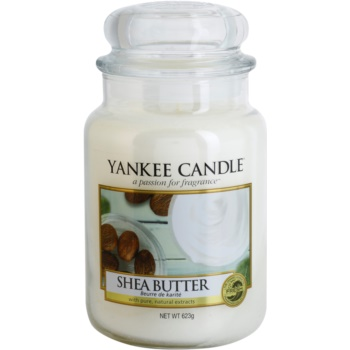 Yankee Candle Shea Butter Scented Candle  Classic Large