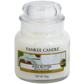Yankee Candle Shea Butter lumanari parfumate 104 g Clasic mini