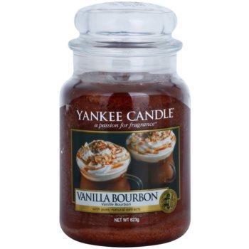 Yankee Candle Vanilla Bourbon świeczka zapachowa   Classic duża