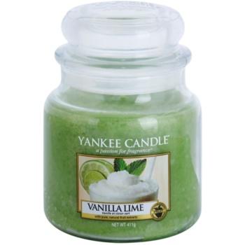 Yankee Candle Vanilla Lime vonná svíčka Classic střední 411 g