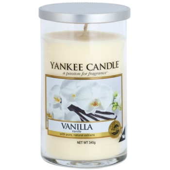 Yankee Candle Vanilla Duftkerze   Décor mittel