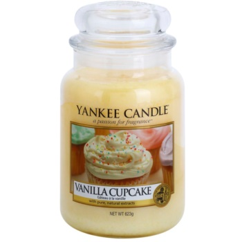 Yankee Candle Vanilla Cupcake vonná svíčka Classic velká 623 g