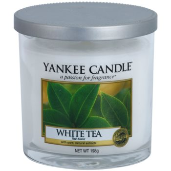 Yankee Candle White Tea Scented Candle  Décor Medium