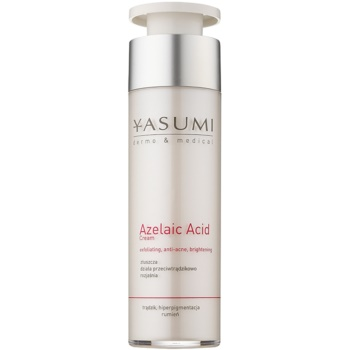 Yasumi Dermo&Medical Azelaic Acid crema calmanta pentru piele sensibila predispusa la acnee  50 ml