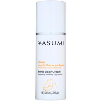 Yasumi Body Care crema regeneratoare si hidratanta pentru toate tipurile de piele  200 ml